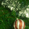 Christmas decoration with shiny glare — Stock Photo #4323704