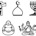 Religious symbols — Stock Photo #4296838