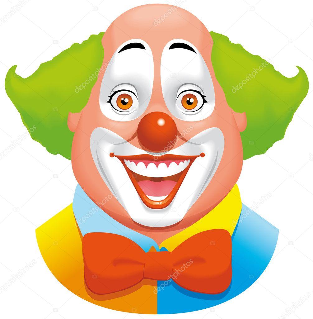 clown gesicht stockfoto carbouval 4699985. Black Bedroom Furniture Sets. Home Design Ideas