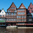 Timbered houses — Stock Photo
