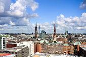 Hamburgs old town — Stock Photo