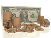 Cash in my pocket — Stock Photo