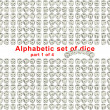 Foto Stock: Alphabet dice. Part 1 of 4