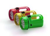 Emergency flashlights — Stock Photo