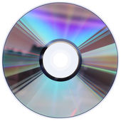 CD / DVD disk isolated on White — Stock Photo