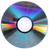 CD / DVD disk isolated on White — Foto de Stock