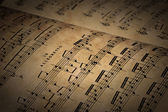 Sheet Music — Foto de Stock