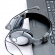Helpdesk headset - Stock Photo