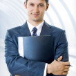 Young, handsome business man — Stock Photo #4987845