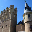 Alcazar of Segovia in Spain — Stock Photo