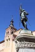 Città vecchia di segovia, Spagna — Foto Stock