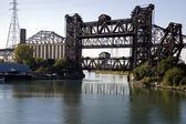 Bridges - Chicago South Side — Stock Photo