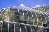Taket till lincoln park conservatory — Stockfoto