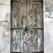 Old Door in French Quarter — Stockfoto