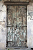 Old Door in French Quarter — Stock Photo