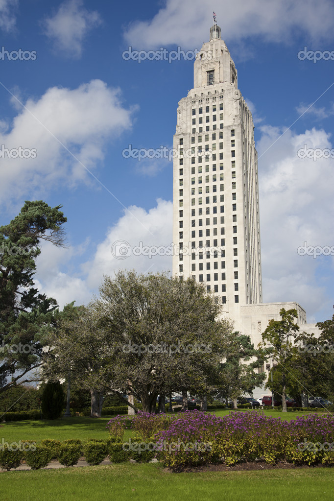 Baton Rogue, Louisiana - State Capitol Building — Stock Photo #4391552