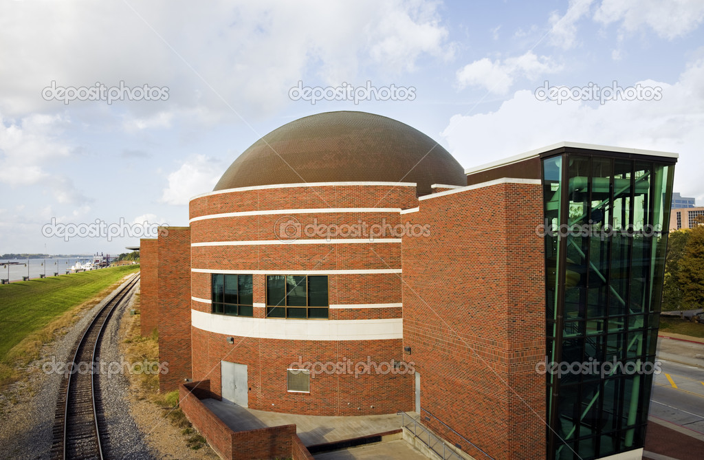 Planetarium in Baton Rouge, Louisiana — Stock Photo #4442769