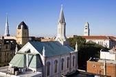 Churches in downtown Savannah — Photo