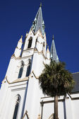 Cathedral in Savannah — Stock Photo