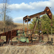 Oil well pump — Stock Photo