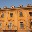 Old building in Krakow - main square. — Stock Photo
