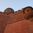 Walls of Wawel Castle — Stockfoto