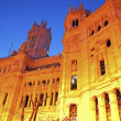 Stock Photo: Palacio de Comunicaciones in Madrid