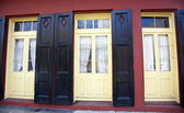 Färgglada new orleans byggnader — Stockfoto