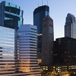 downtown minneapolis — Stock Photo