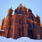 乌斯别斯基大教堂在赫尔辛基 — 图库照片