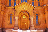 Door to Uspenski Cathedral in Helsinki — Stock Photo
