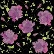 Retro floral background — Stok Vektör #3928515