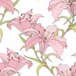 Seamless background from flowers ornament, fashionable modern wallpaper o — Stok Vektör #5120773
