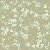 无缝背景从鲜花装饰,时尚现代壁纸 o — 图库矢量图片