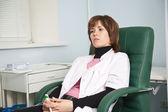 Woman medic — Stock Photo