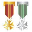 Medals — Stock Vector #4054450