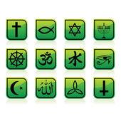 Signes religieux — Vecteur