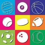 Sport Balls — Stock Vector #4871821