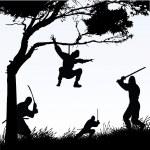 Постер, плакат: The Ninjas