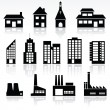 Buildings — Vector de stock #5124078