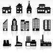 Buildings - Imagen vectorial