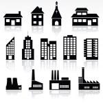 Buildings — Stock Vector