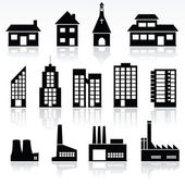 Buildings — Stockvector