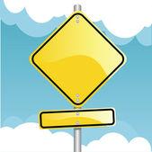 Traffic Sign — Stock Vector
