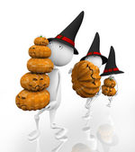 3d. Halloween. — Stock Photo