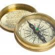 Royalty-Free Stock Photo: Compass and cover