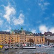 Stock Photo: Stockholm sweden cityview