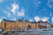 Stockholm sweden cityview — 图库照片