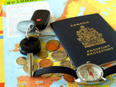 Traveling abroad — Stock Photo