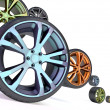 Car wheel — Stock Photo #4047361